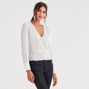 7 for all Mankind Blouse size XS